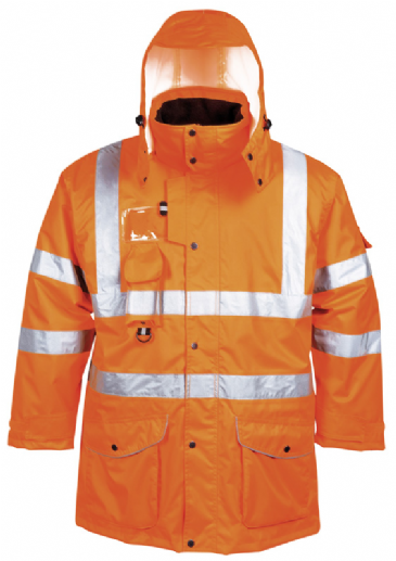 Portwest hi-vis 7-in-1 traffic jacket RT27